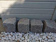 Randsteine aus Granit 18x18cm