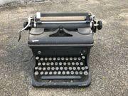 Alte Schreibmaschine Woodstock