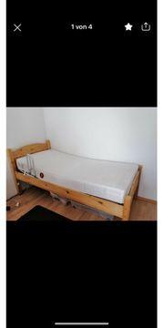Einzel Bett mit Lattenrost und