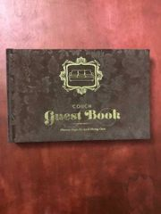 Couch Guest Book Gäste Buch