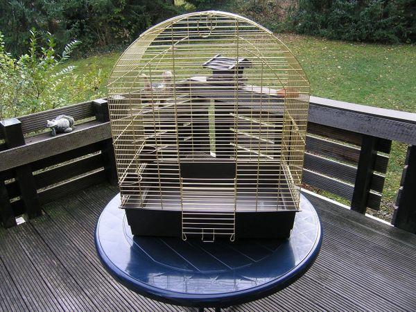 Ferplast Messingkäfig für kleine Papageien