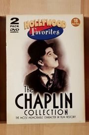 CHARLIE CHAPLIN DVD Box - The