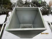 1 metall-pflanzentopf