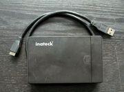 Externes Festplattengehäuse USB 3 0