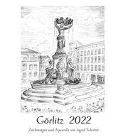 Kunst Kalender Görlitz 2022 Bleistiftzeichnungen