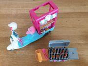 Barbie Roller und Grill