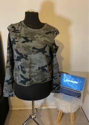 Camouflage Pullover Größe M L