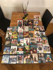 Sammlung an 39 DVDs Blu