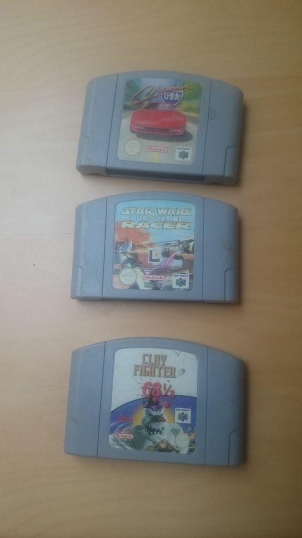 Spiele für N64