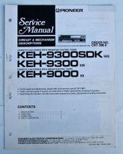 Pioneer KEH 9300 SDK Schaltplan