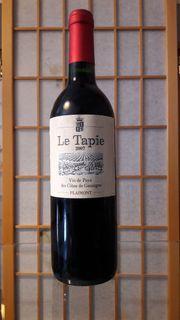 Rotwein Le Tapie 2007 Vin