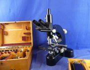 Leitz Wetzlar Stereomikroskop mit sehr