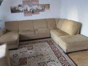 Wohnzimmersofa und Sessel an Selbstabholer