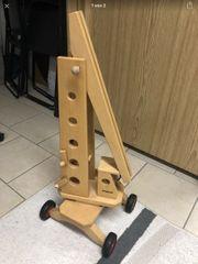 Fagus Kran Holzkran Holzspielzeug