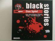 Black Stories - der rabenschwarze Rätsel-