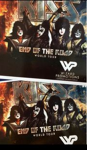 2x Kiss Tickets 14 06