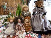 Puppensammlung komplett zu verkaufen