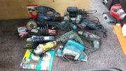 Werkstattauflösung-Kleinmaschinen zu verkaufen