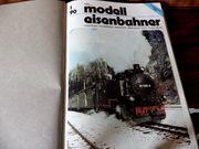 Neuw Modellbahn-Zeitschriften gebunden u ungebunden -