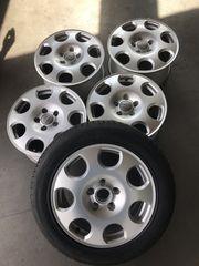 5 Stück original Audi Alufelgen