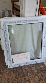 Unbenutztes Fenster- Deutsches Fenster 108x124cm