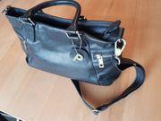 Picard Lederhandtasche schwarz