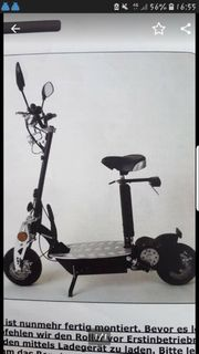 e-scooter e-roller Roller
