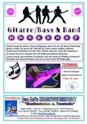 Gitarre Bass Band Workshop in
