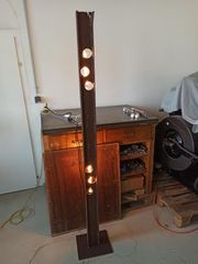 Upcycling Lampen Rost