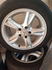 Mercedes Alu Felgen mit Reifen