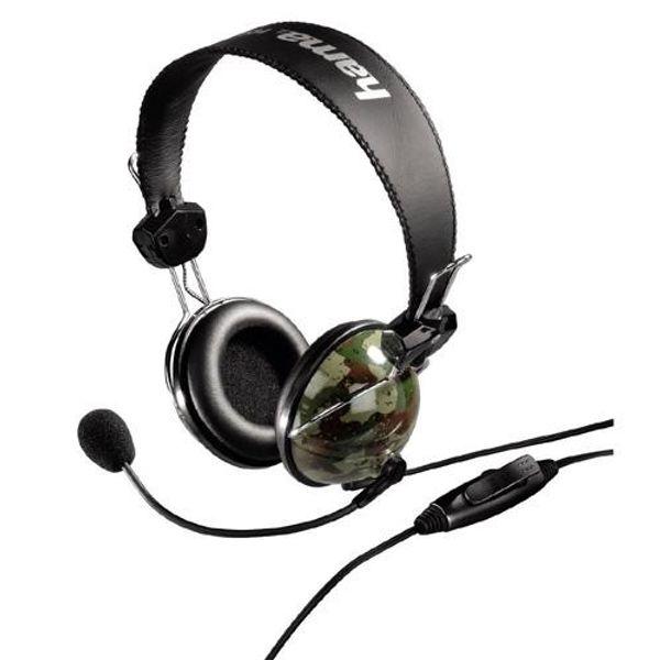 NEU Hama PC-Headset Woodland im