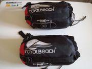 2 leichte Schlafsäcke von Royalbeach