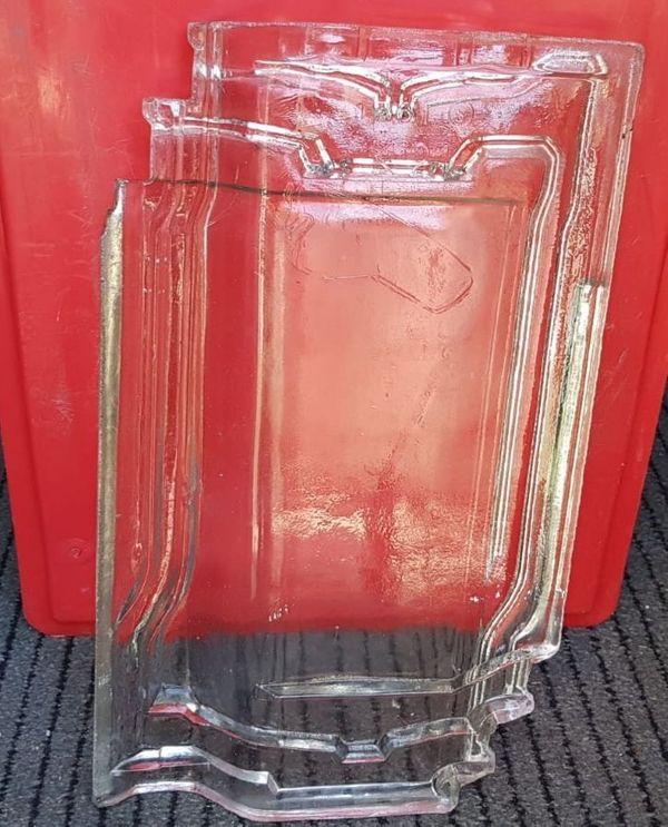 Glas Dachziegel Lichtziegel Lichtpfanne K21 -