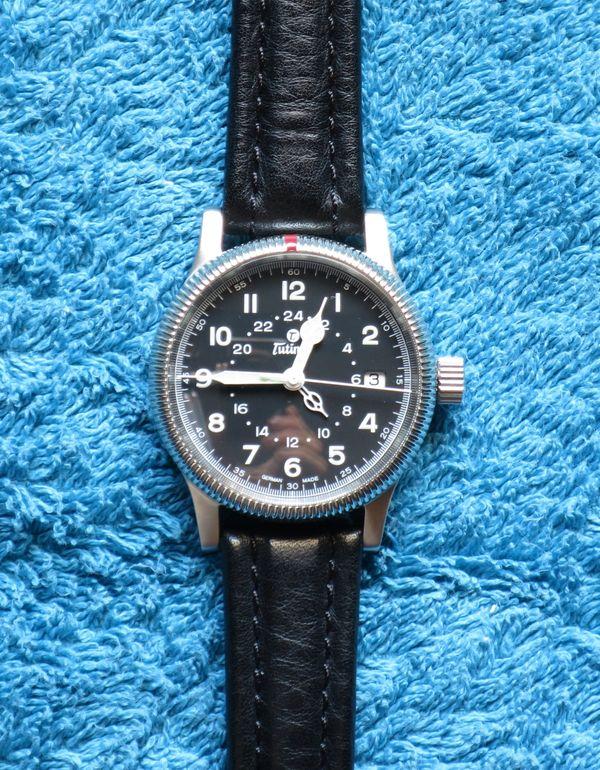Tutima Flieger GMT 639-01 Herrenarmbanduhr