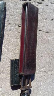 Antiker Streichriemen Abziehriemen und Rasiermesser