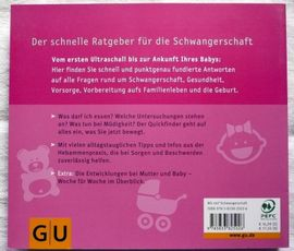 Fach- und Sachliteratur - GH-Ratgeber Quickfinder Schwangerschaft