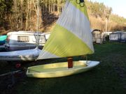 Kult-Segelboot Sunflower zum Segeln Rudern