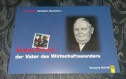 BriefmarkenMeilensteine deutscher GeschichteLudwig Erhardder Vater