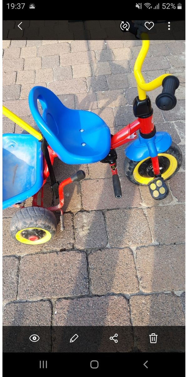 Dreirad zu verkaufen