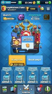 Clash Royale - Level 12 fast