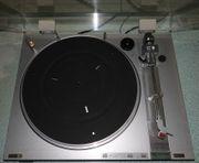 Sony Plattenspieler silber