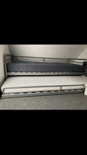 Ikea ausziehbares Bett Svärta