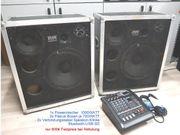 Powermixer 5Kanal 1000WATT 2x PA-Boxen