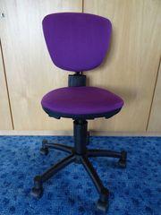 Schreibtischstuhl Kinder lila von Topstar