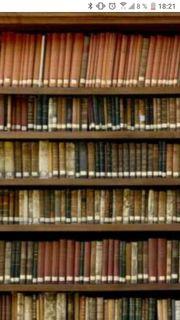 Suche Bücher aller art für