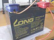 Batterie 12 Volt 40Ah Blei-Gel-Akku