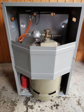 Bild 4 - Gasheizer mit Gasdruckregler - Dudenhofen