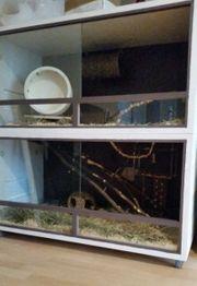 Großer Nagerkäfig Terrarium 120cm x