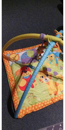 Sonstiges Kinderspielzeug - Spieldecke für Babys mit weichem