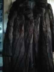 Pelz Mantel aus Nachlass ab